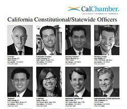 CA Legislative Pictorial Roster 2018